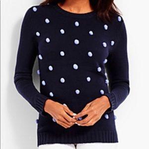 Talbot's Pom Pom Sweater